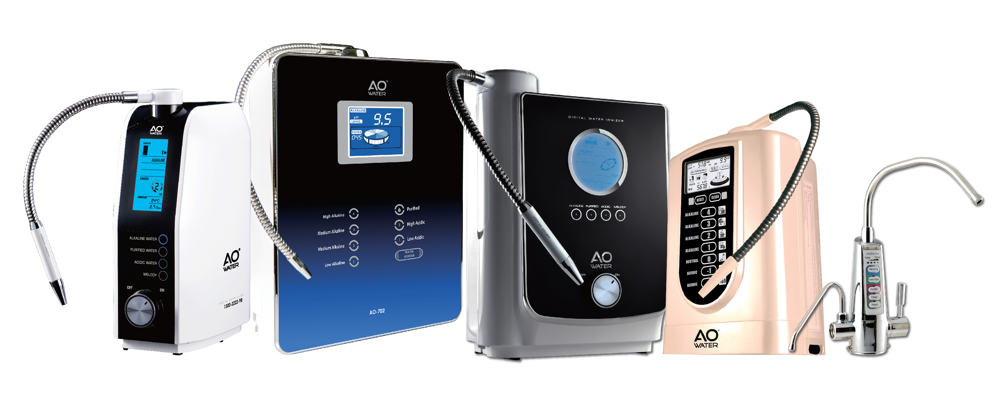 AO Water - Alkaline Machine